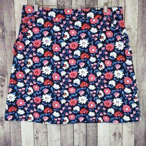 Kate Spade Daisy Jacquard A-line Mini Skirt